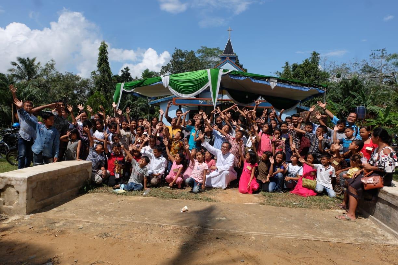 Gebyar Sekami Paroki St Andreas Rasul Mesuji, Keuskupan Tanjungkarang, 5-7 Juli 2019 (foto: docrmbowoscj)